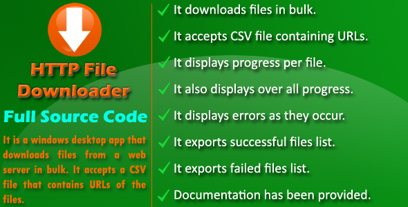 Photo of Get HTTP File Downloader – Source Code Download
