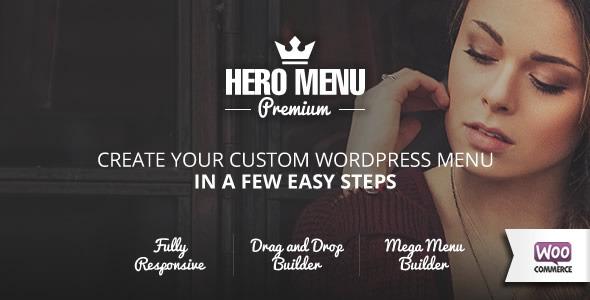 Photo of Get Hero Menu – Responsive WordPress Mega Menu Plugin Download