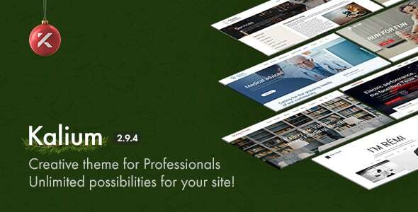 Photo of Get Kalium – Creative Theme for Professionals Download