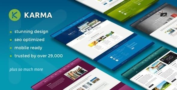 Photo of Get Karma – Responsive WordPress Theme Download