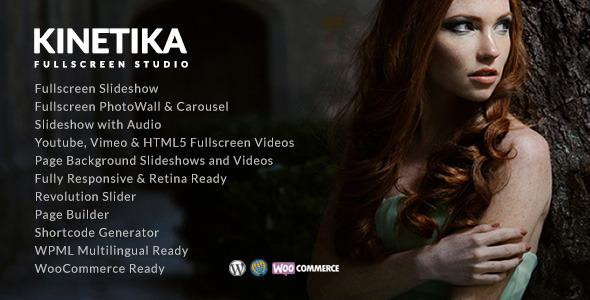 Photo of Get Kinetika | Photography Theme for WordPress Download