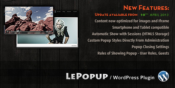 Photo of Get LePopup WordPress Download