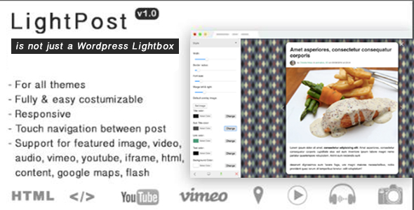 Photo of Get LightPost Wordpress – Lightbox for Wordpress Post Download
