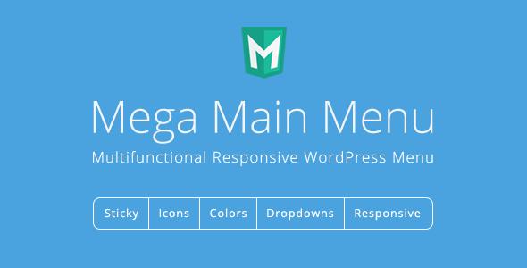 Photo of Get Mega Main Menu – WordPress Menu Plugin Download