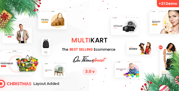 Photo of Get Multikart – eCommerce HTML Template Download