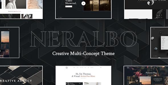 Photo of Get Neralbo – Creative Portfolio Theme Download