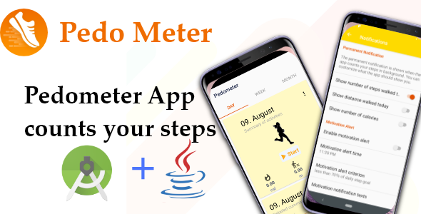 Photo of Get PedoMeter – Android Source Code Download