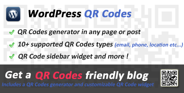 Photo of Get QR Codes for WordPress Download