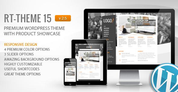 Photo of Get RT-Theme 15 Premium Wordpress Theme Download