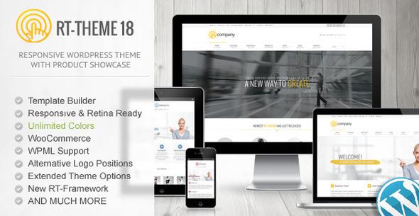 Photo of Get RT-Theme 18 Responsive WordPress Theme Download