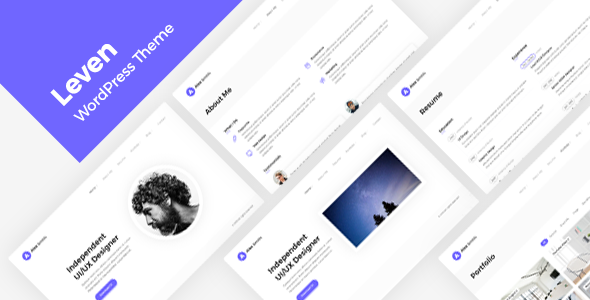 Photo of Get Resume/CV/vCard Theme Download
