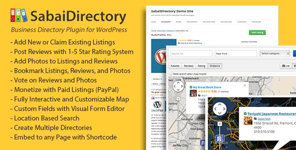 Photo of Get Sabai Directory plugin for WordPress Download