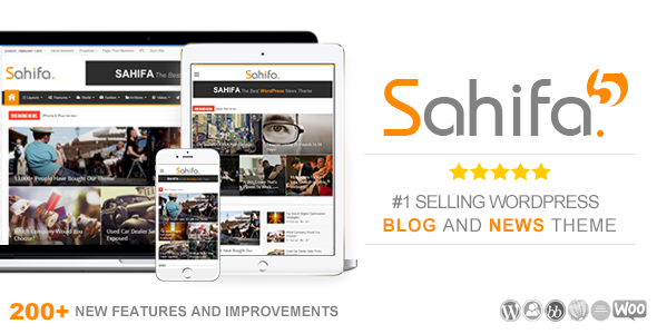 Photo of Get Sahifa – Responsive WordPress News / Magazine / Blog Theme Download