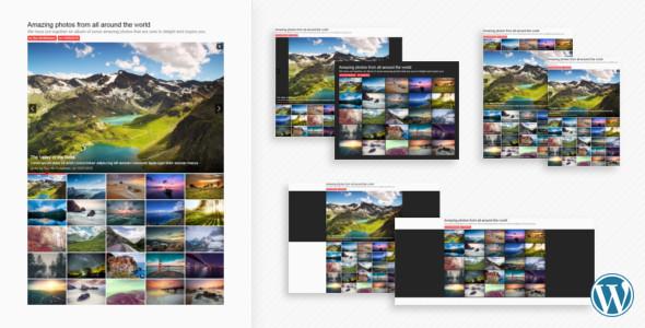 Photo of Get Sharp Gallery for WordPress Download