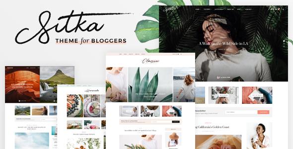 Photo of Get Sitka – Modern WordPress Blog Theme Download