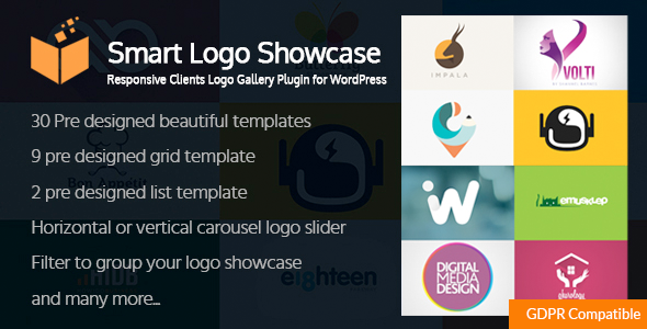 Photo of Get Smart Logo Showcase – Responsive Clients Logo Gallery Plugin for WordPress Download