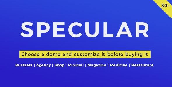 Photo of Get Specular – Business Theme Download