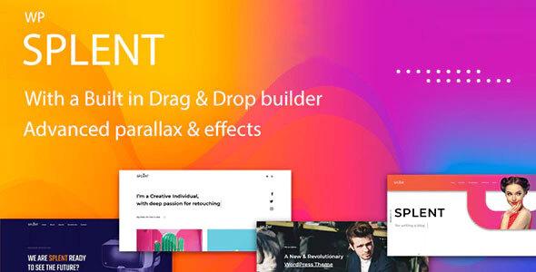 Photo of Get Splent | Responsive Multi-Purpose WordPress Theme Download