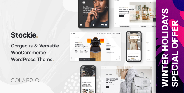 Photo of Get Stockie – Modern Multi-Purpose WooCommerce Theme Download