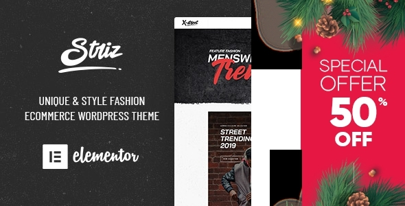 Photo of Get Striz – Fashion Ecommerce WordPress Theme Download