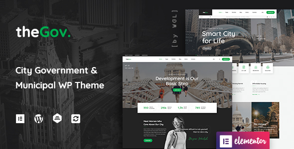 TheGov - Municipal and Government WordPress Theme