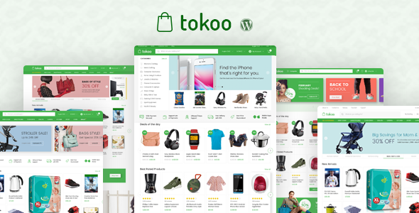 Photo of Get Tokoo – Electronics Store WooCommerce Theme for Affiliates, Dropship and Multi-vendor Websites Download