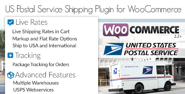 Photo of Get US Postal Service USPS WooCommerce Shipping Plugin for Rates and Tracking Download