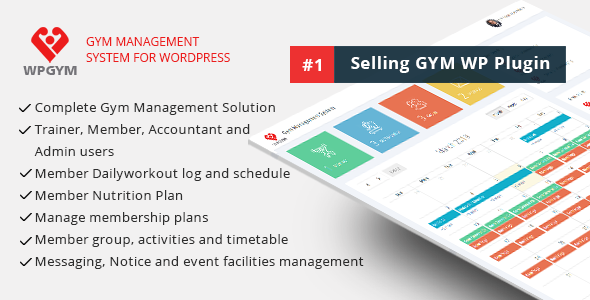 Photo of Get WPGYM – Wordpress Gym Management System Download