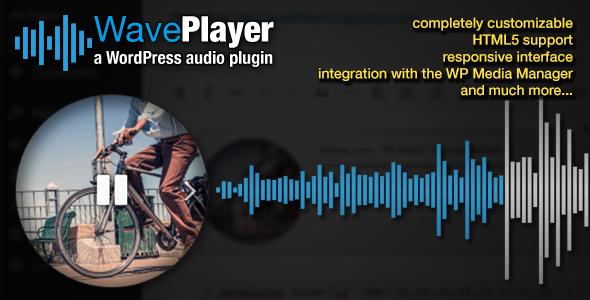 Photo of Get WavePlayer – WordPress Audio Player with Waveform and Playlist Download