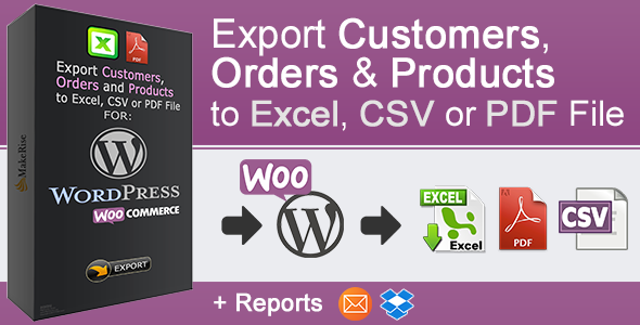 Photo of Get WooCommerce Orders and Products Export Download