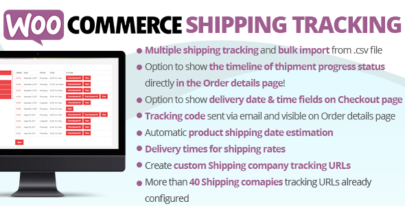 Photo of Get WooCommerce Shipping Tracking Download