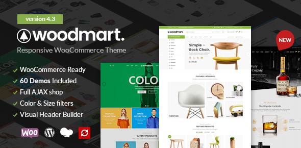 Photo of Get WoodMart – Responsive WooCommerce WordPress Theme Download