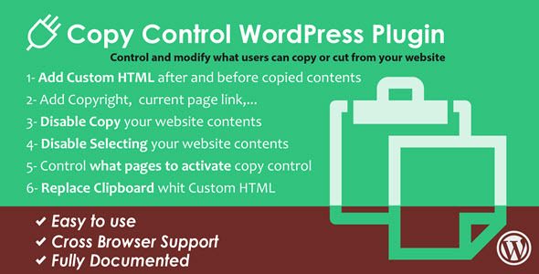Photo of Get WordPress Copy Control Plugin Download