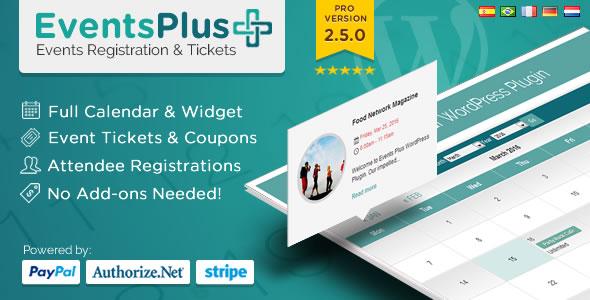 Photo of Get WordPress Events Calendar Registration & Tickets Download
