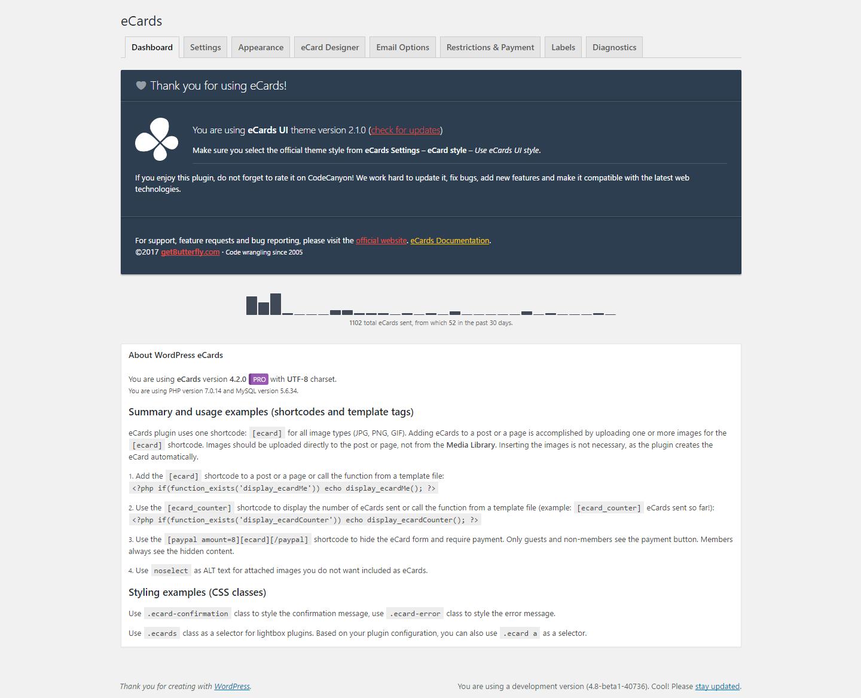 WordPress eCards - 1