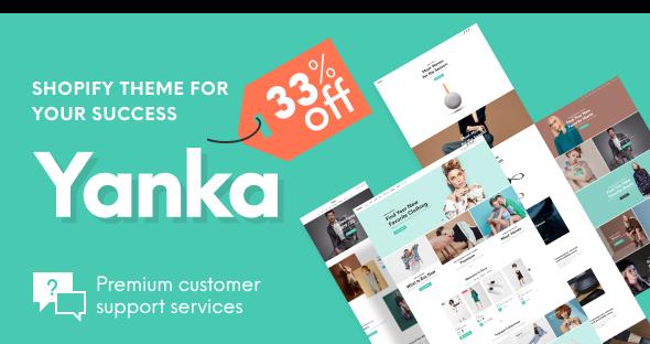 Photo of Get Yanka – Fashion Multipurpose Shopify Theme Download