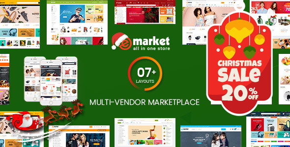 Photo of Get eMarket – Multi Vendor MarketPlace WordPress Theme (7+ Homepages & 2 Mobile Layouts Ready) Download