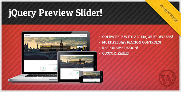 Photo of Get jQuery Preview Slider – for WordPress Download