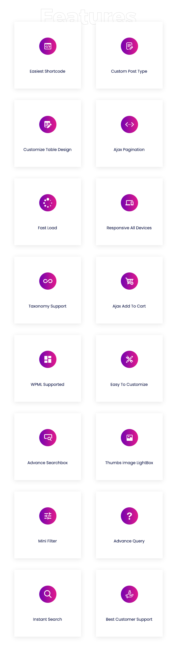 Woo Product Table Pro - WooCommerce Product Table view solution - 20