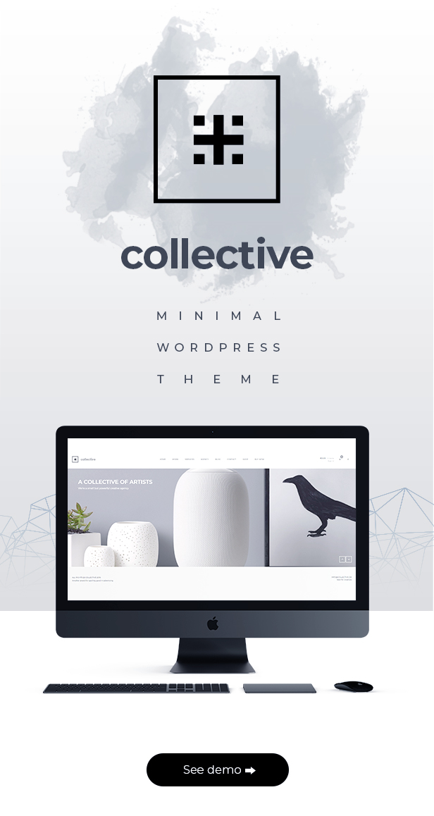 Collective - Minimal WordPress Theme - 1
