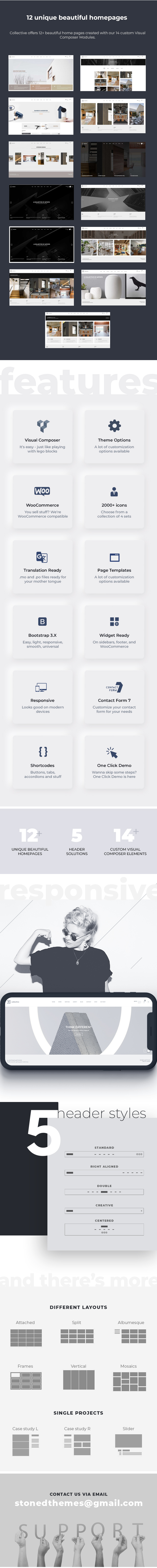 Collective - Minimal WordPress Theme - 2
