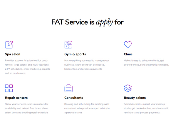 Fat Services Booking - Automated Booking and Online Scheduling - 4