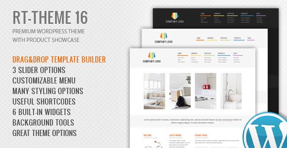 Photo of Get RT-Theme 16   Corporate WordPress Theme Download