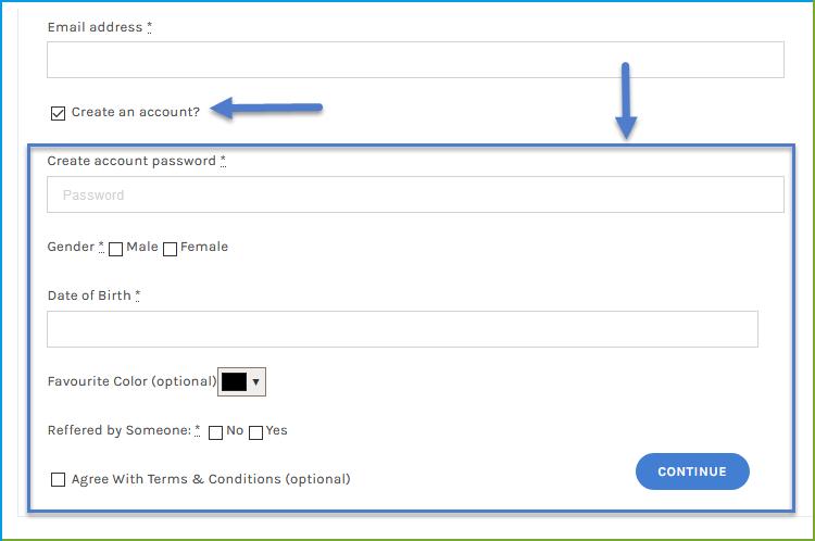 WooCommerce Custom Registration Fields Plugin, User Form Field - 1