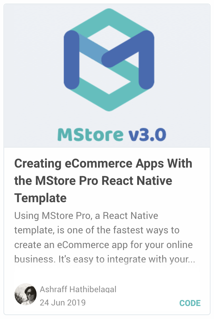 MStore Pro - Complete React Native template for e-commerce - 25