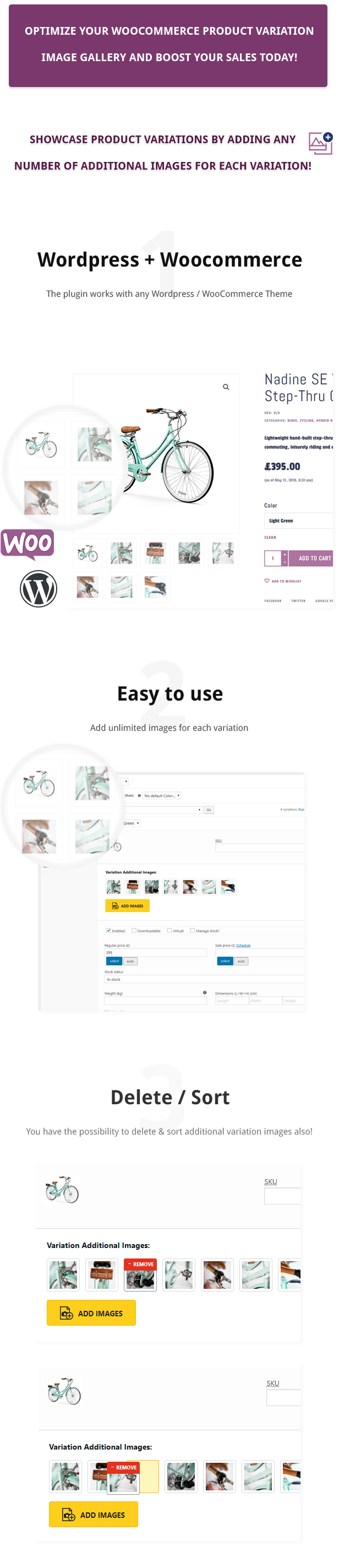 Additional Variation Images Plugin for WooCommerce - 2