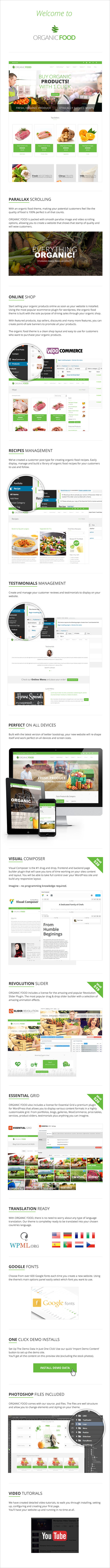 Organic Food   Ecology & Environmental, Store & Bakery WooCommerce, Responsive WordPress Theme - 8