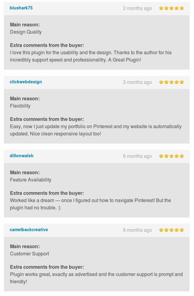 Pinterest to WordPress - WordPress Pinterest Gallery Plugin - 18