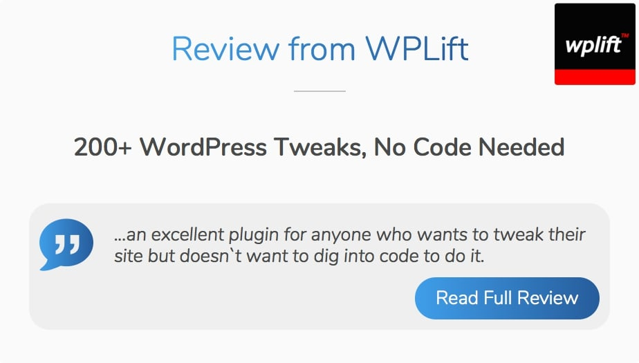 Ultimate Tweaker for WordPress - 17