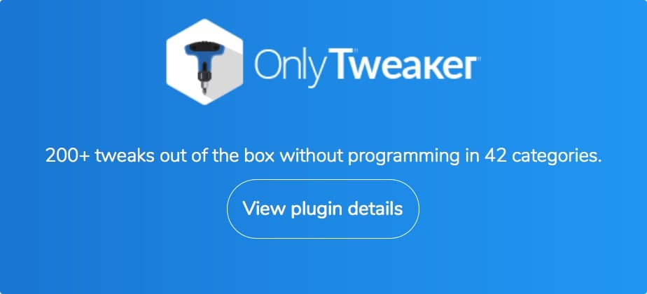 Ultimate Tweaker for WordPress - 3